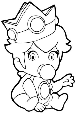 ba princess peach coloring page free printable coloring