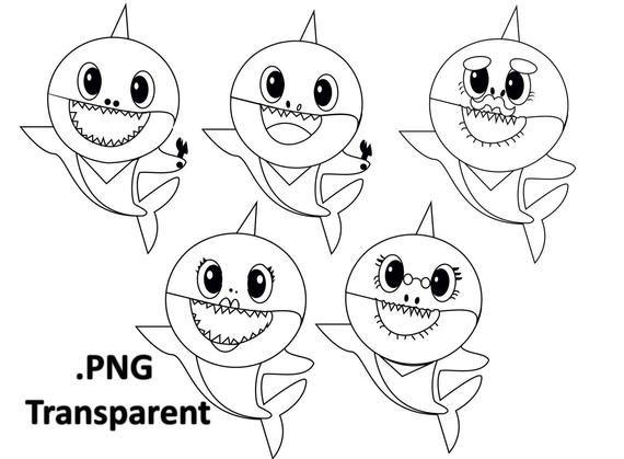 ba shark outline use the printable outline for crafts