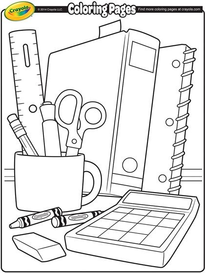 back to school coloring page schule malvorlagen