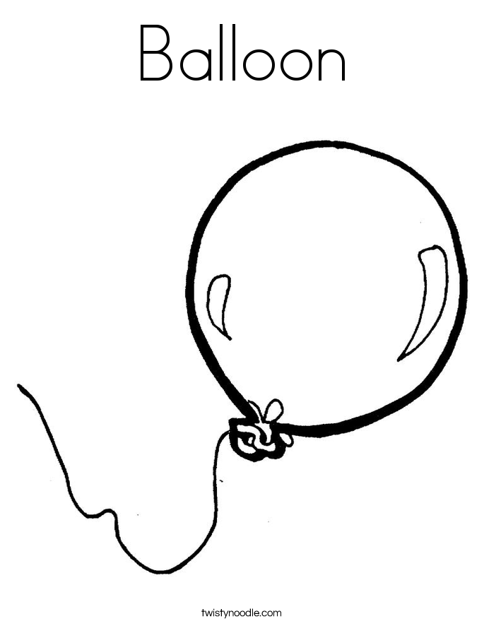 balloon coloring page timeless miracle