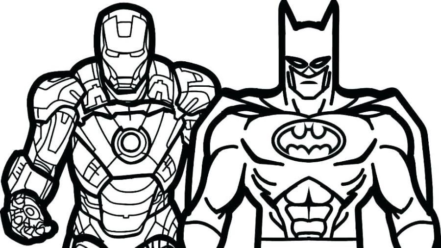 batman coloring pages pdf at getdrawings free for
