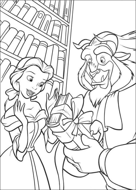beauty and the beast colouring pages belle coloring pages