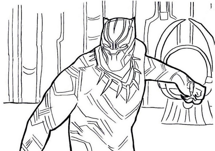 best black panther coloring pages fun for kids