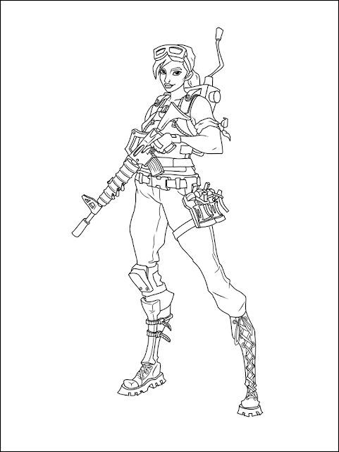 best fortnite coloring pages printable free coloring pages