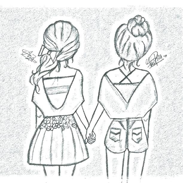 best friend coloring pages bff coloring pages coloring page