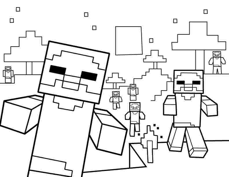 best minecraft coloring pages minecraft coloring pages best