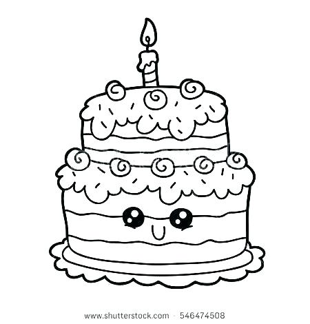 birthday cake coloring pages arpitbatra
