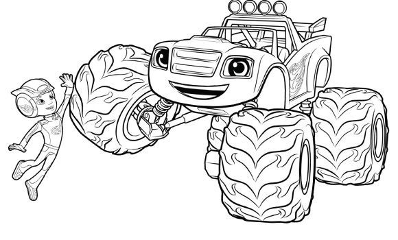 blaze and the monster machines coloring pages google suche