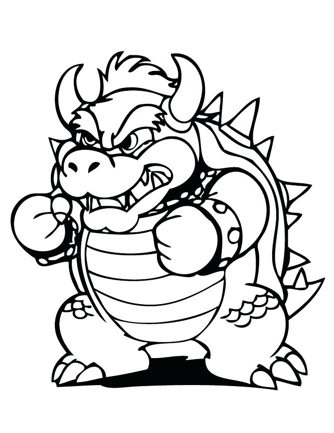 bowser coloring pages best coloring pages for kids