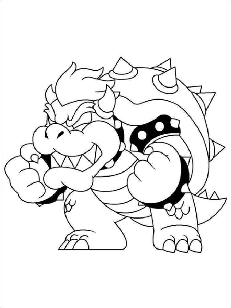 bowser coloring sheet elegant photography mario bowser