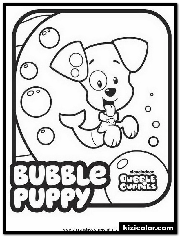 bubble puppy coloring pages 9 bubble guppies colouring