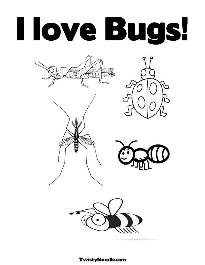 bugs coloring pages gallery of bugs coloring pages