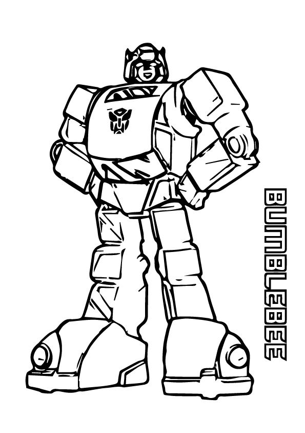 bumblebee coloring page free printable coloring pages for kids