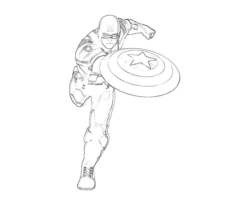 captain america 113 superheroes printable coloring pages
