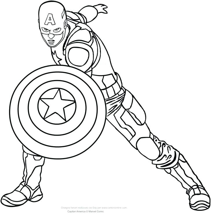 captain coloring page captian america pages face