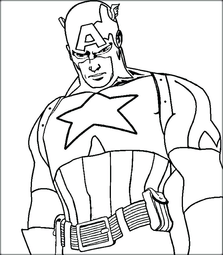 captain coloring page flash logo captian america pages