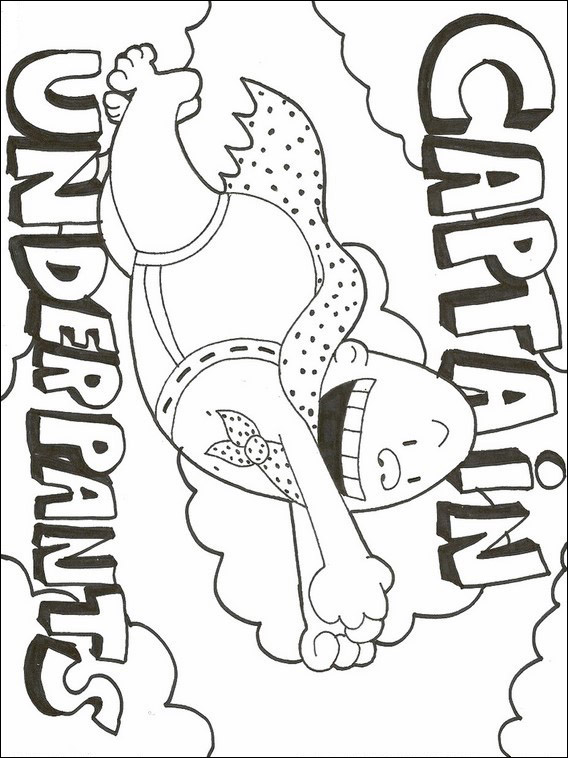 captain underpants coloring book 2