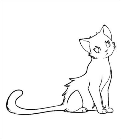 cat coloring page 9 free pdf jpg format download free