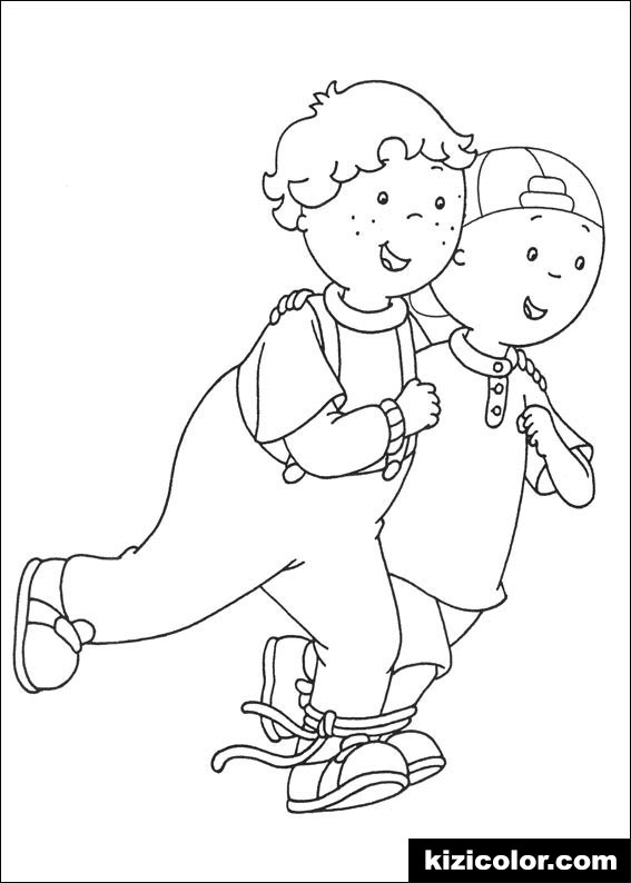 causou caillou coloring pages7 kizi free coloring pages