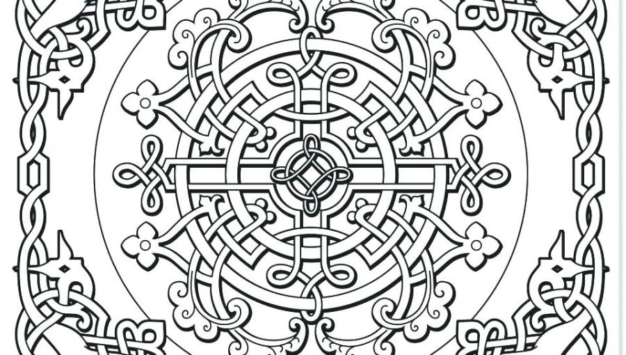 celtic coloring pages for adults at getdrawings free