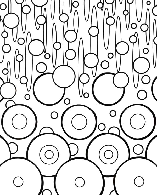 changing shape abstract coloring pages coloring sky