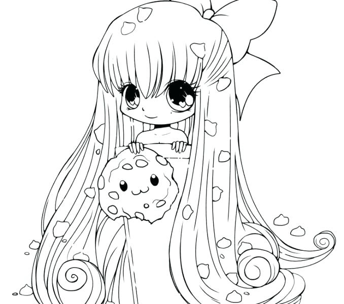 chibi unicorn girl coloring pages printable fun for kids
