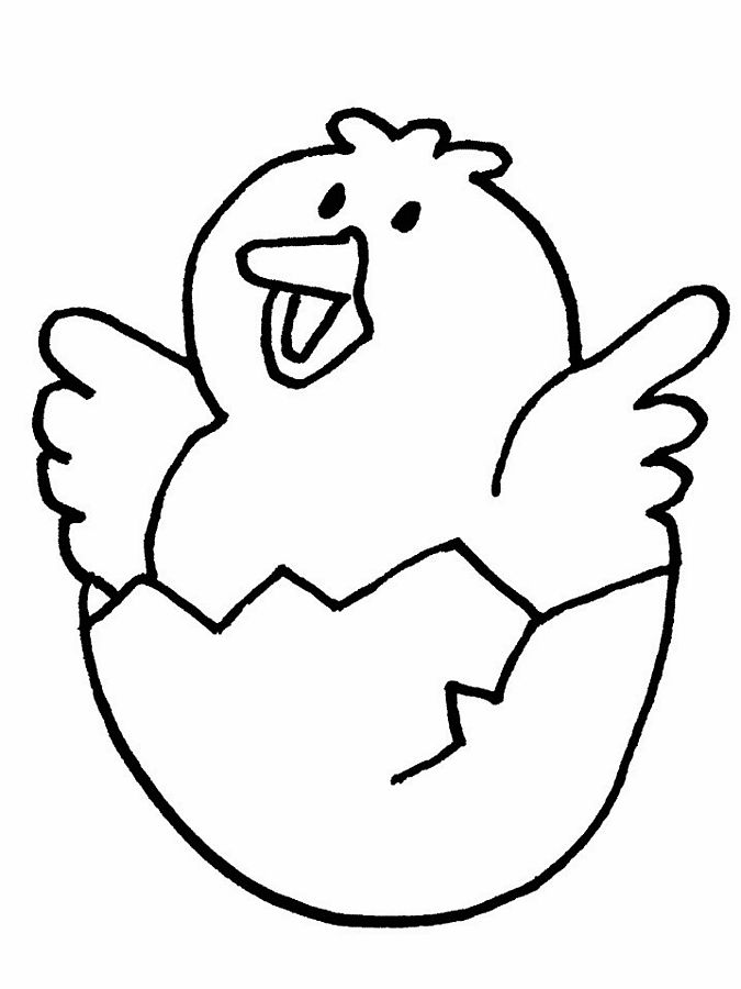 chick 8 animals printable coloring pages