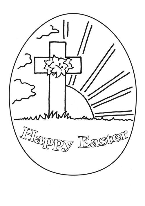 christian easter coloring pages religious easter coloring
