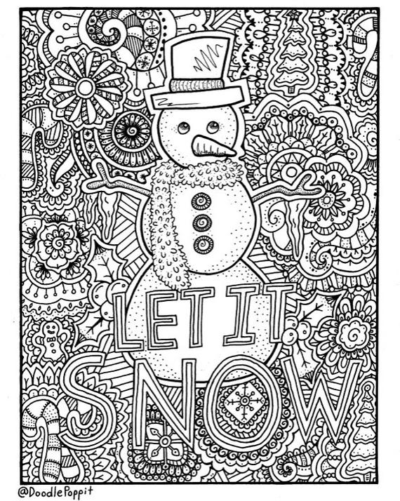 - Christmas Adult Coloring Pages Idea - Whitesbelfast