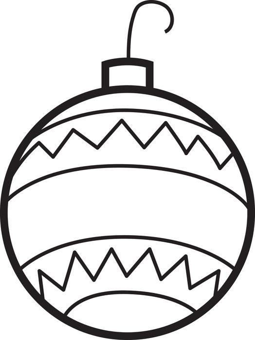 christmas ornaments coloring page 2 christmas ornament
