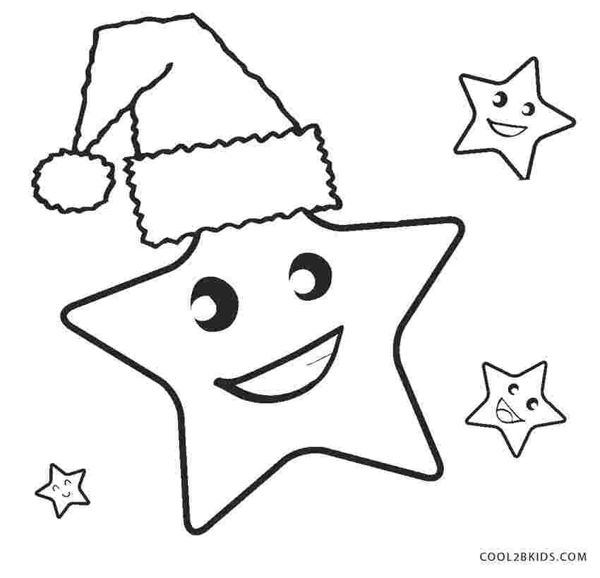 christmas star coloring pages printable pomorski