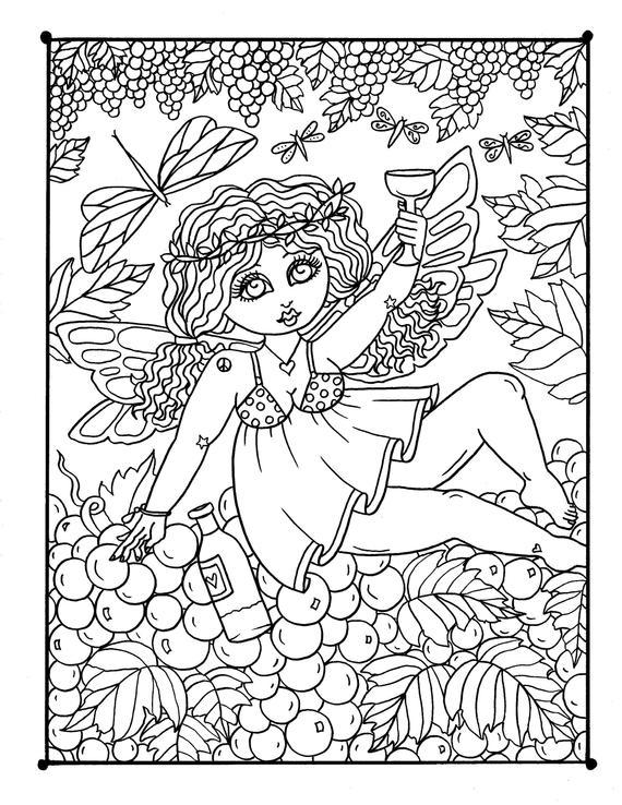 chub fairies digital coloring book fairy coloring pages fairy coloring fun fairies woods fantasy magic