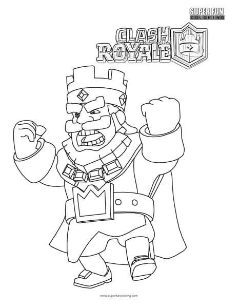 clash royale coloring page in 2019 cool coloring pages