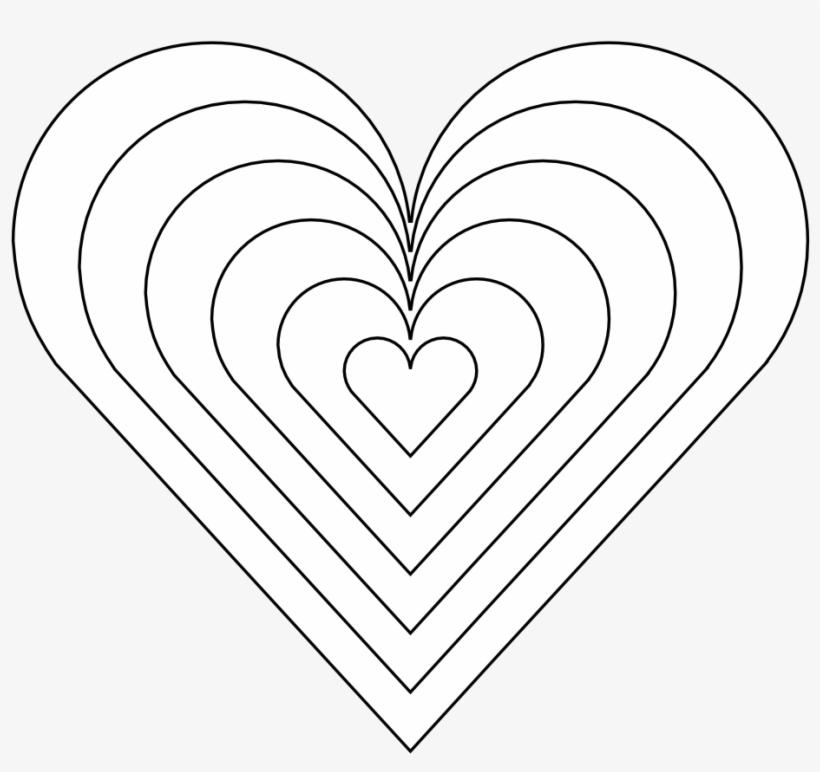 color heart black white line art 999px 121 rainbow heart