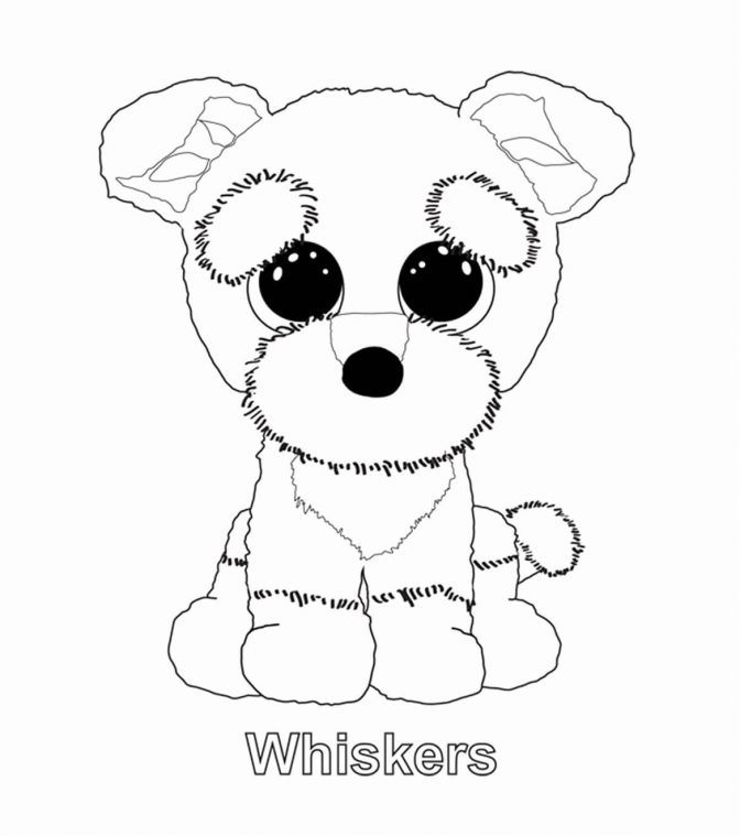 color pages beanie boo coloring pages new boos of color