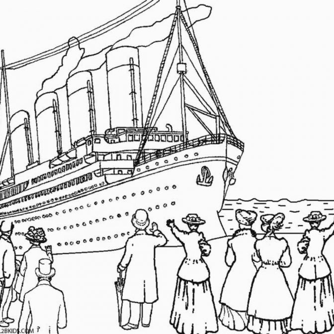 color pages remarkable printable titanic coloring pages