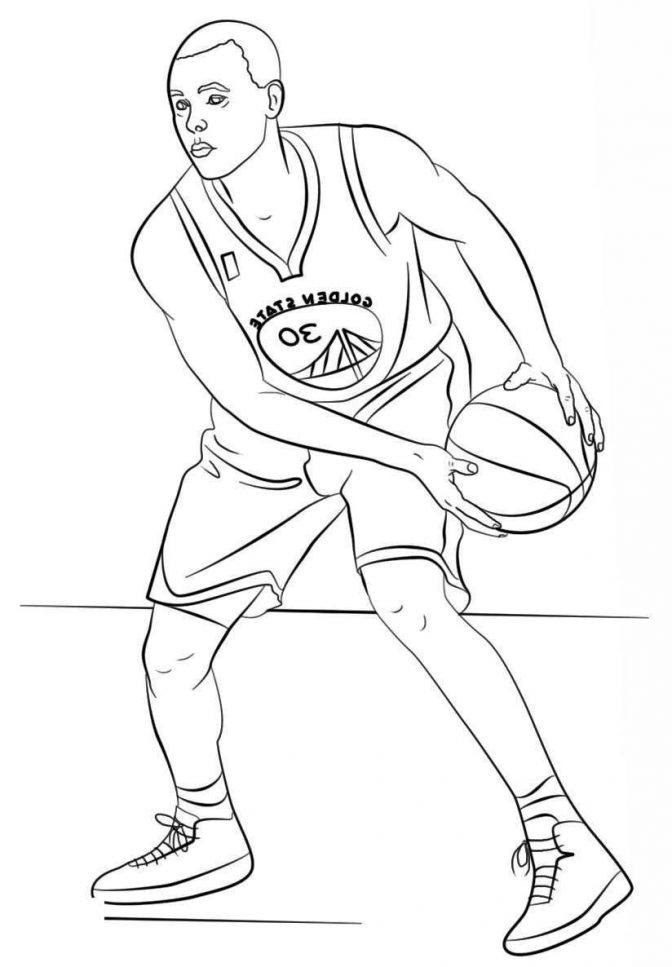 color pages steph curry coloring pages best of awesome
