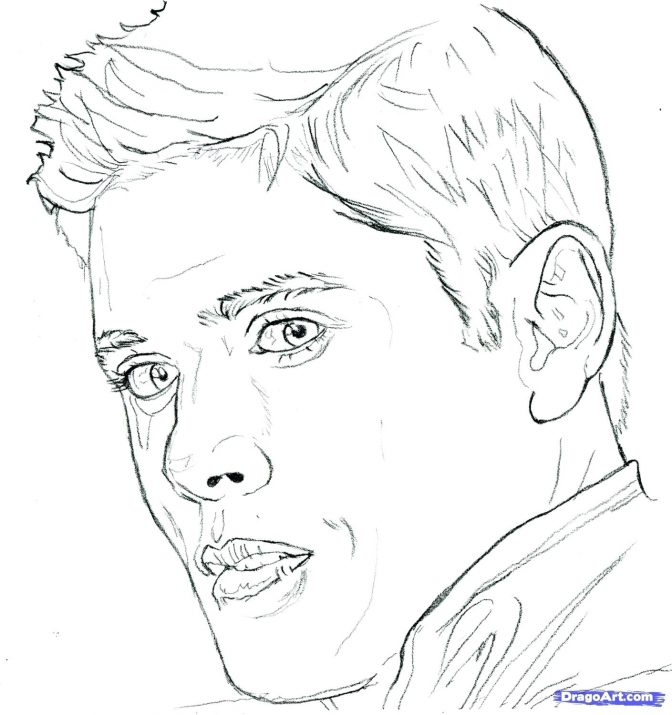 color pages supernatural the official coloring book