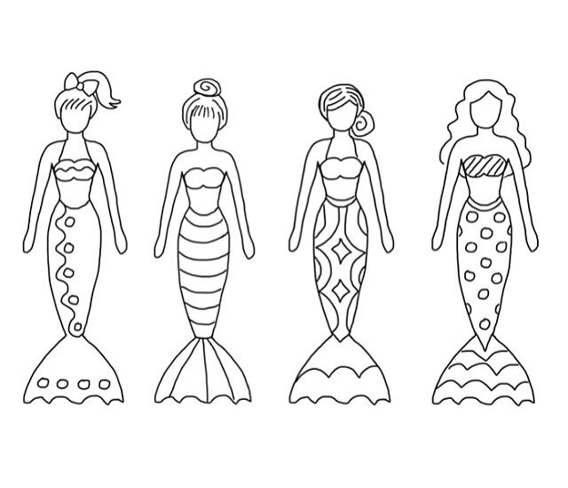 color sheet mermaids mermaid crafts coloring pages for