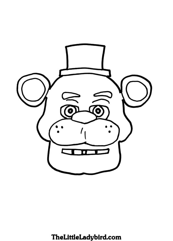 coloring book fabulous five nights at freddys coloring