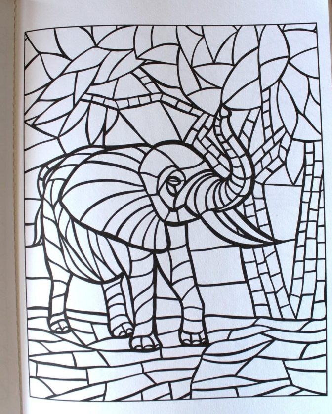 coloring book marvelous mosaic coloring book photo