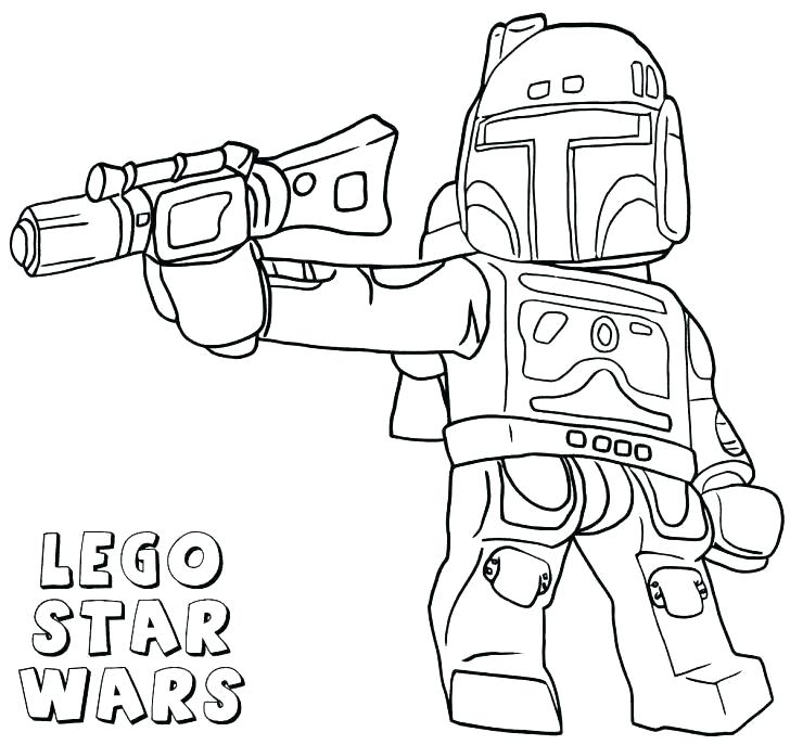 coloring book pages star wars pusat hobi