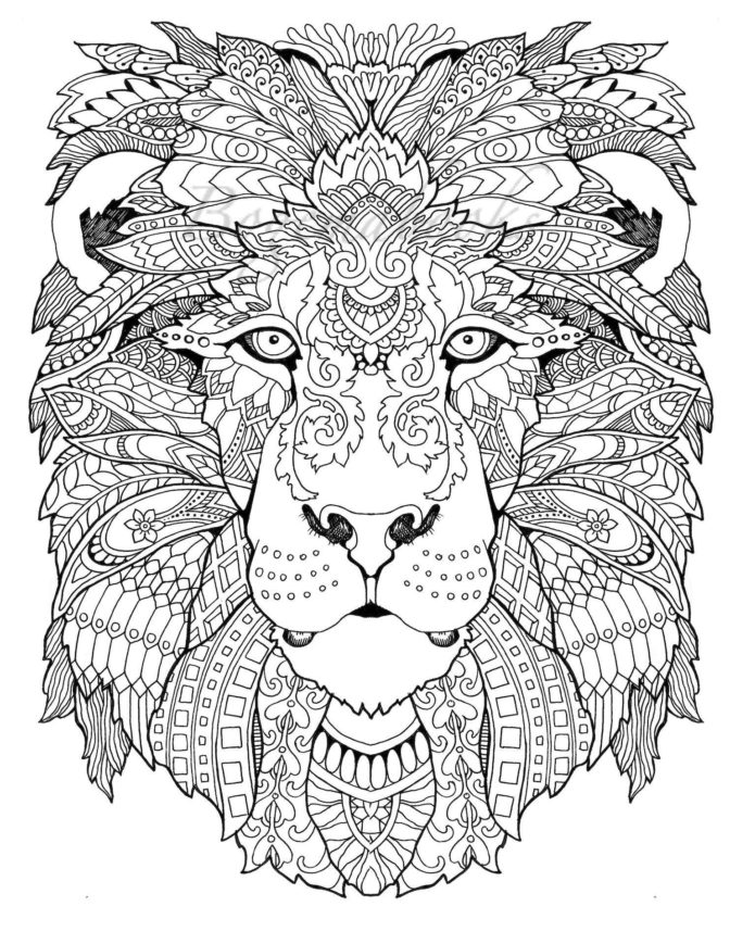 - Adult Animal Coloring Pages Ideas - Whitesbelfast