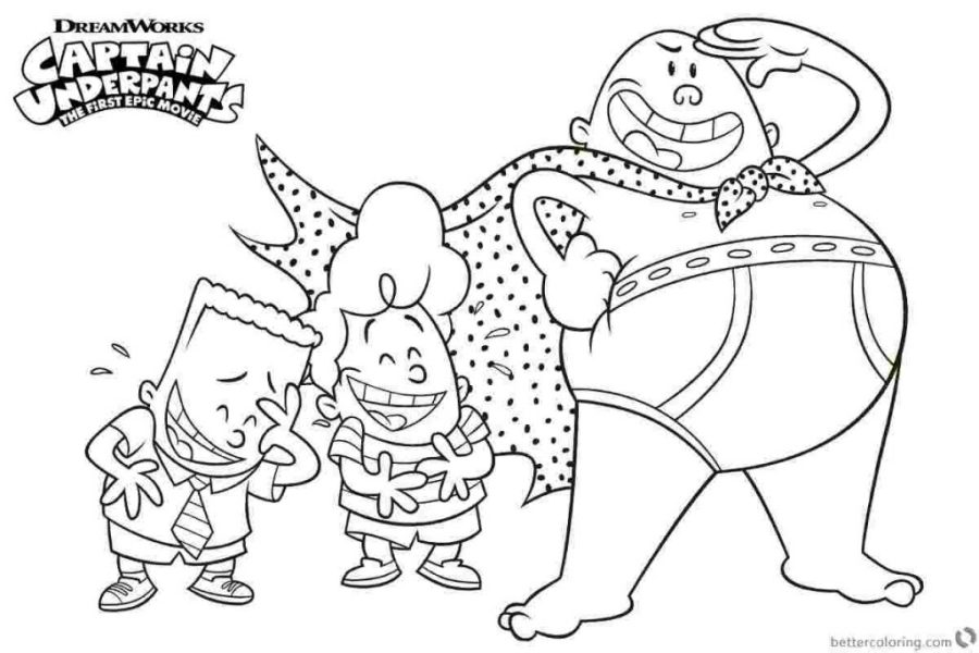 coloring books captain underpants coloring pages safety to
