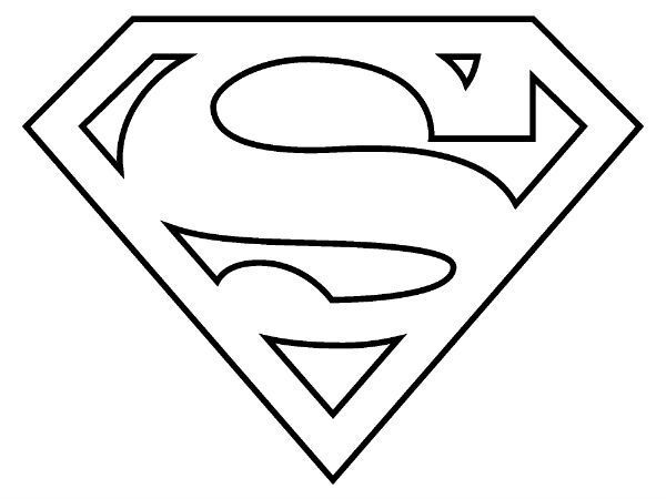 coloring logo pages superwoman 2020 superman coloring