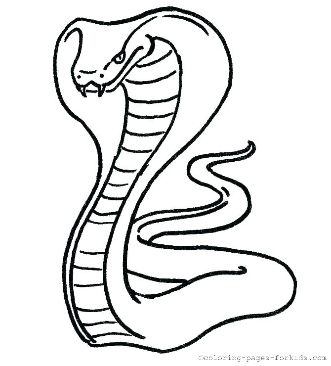 coloring page snake colouring pages printable