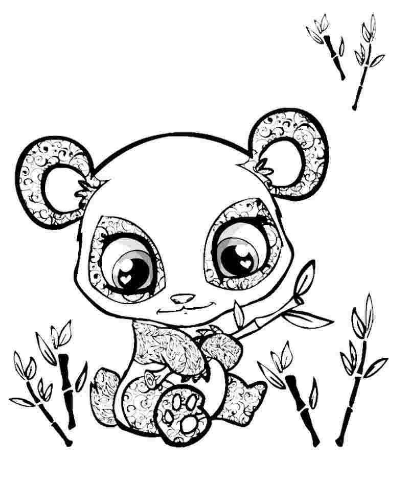 coloring pages 4 to cute animals huangfei
