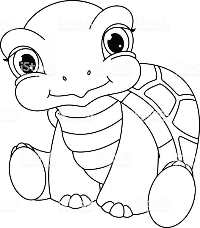 coloring pages 42 awesome ba turtle coloring pages image