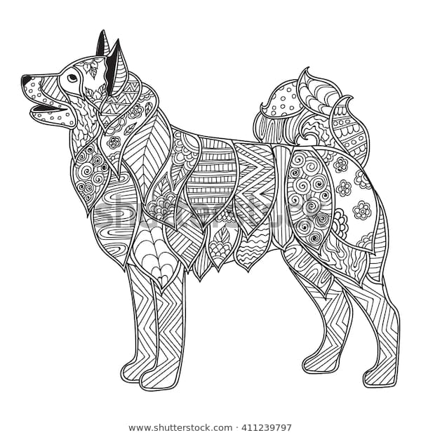 coloring pages adults coloring book high royalty free