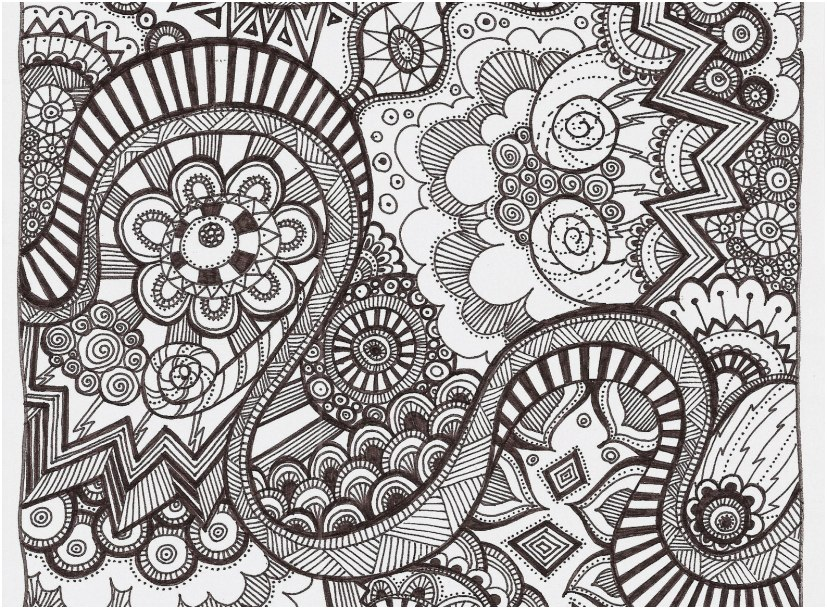 coloring pages adults view free printable zentangle coloring